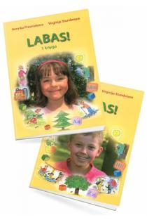 Labas! 1 ir 2 knygos (su CD) | Henrika Prosniakova, Virginija Stumbrienė