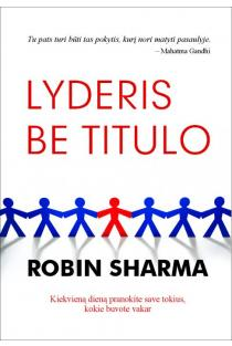Lyderis be titulo | Robin Sharma