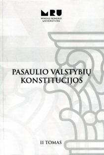 Pasaulio valstybių konstitucijos, II tomas  