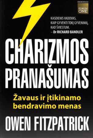 """NEMOKAMAI GAUKITE EL. KNYGĄ """"Charizmos pranašumas"""""""