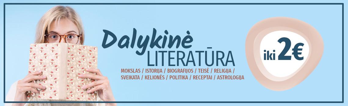 DALYKINĖ literatūra iki 2 eurų