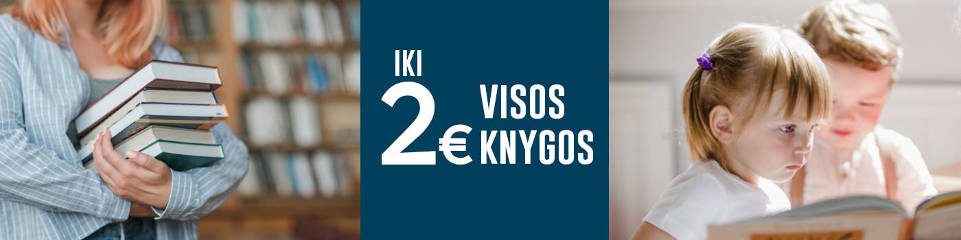 Visos knygos iki 2 eurų