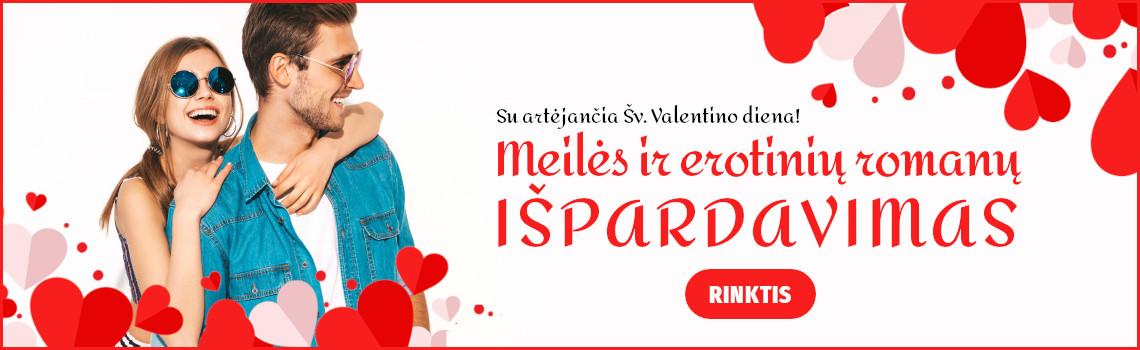 Meilės ir erotinių romanų IŠPARDAVIMAS