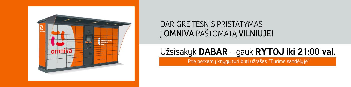 Dar greitesnis pristatymas į Omniva paštomatą Vilniuje 2
