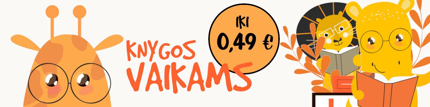 Knygos vaikams iki 0,49 €